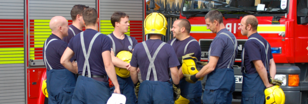 firefighters in community england prevention