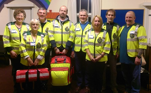 community first responders essex
