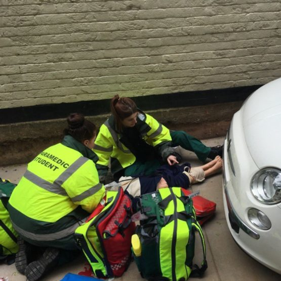 In use by Coventry University paramedic students