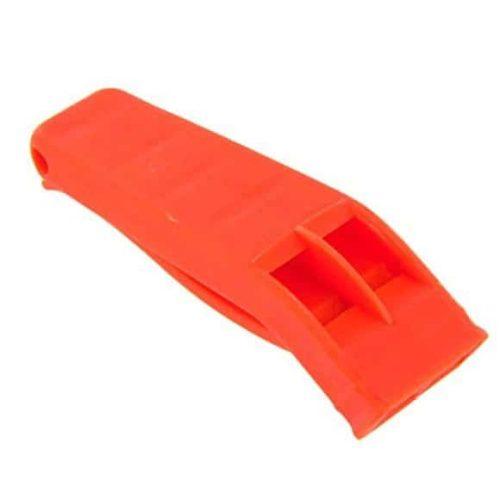 Orange Saftey Whistle