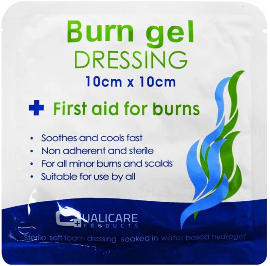 Burn Gel Dresssing 10 x 10cm