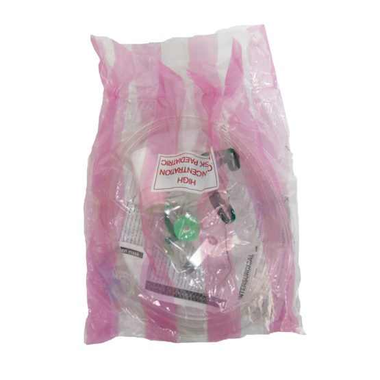 30-00261 Child Non Re-breathing mask Front