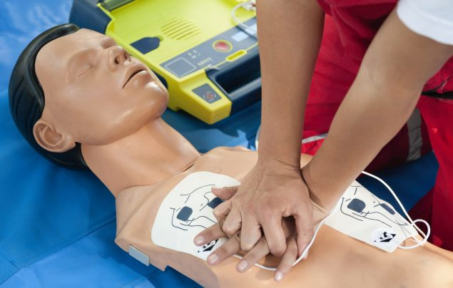 CPR Defibrillator Training