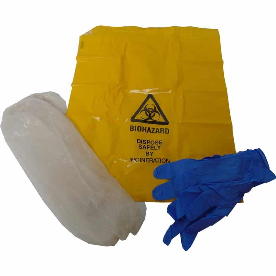 iquid Absorption Kit gloves