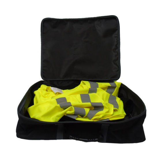 PPE bag open
