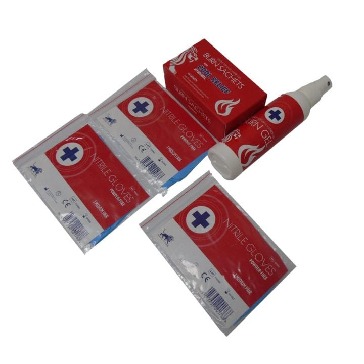 Burn First Aid Kit 4