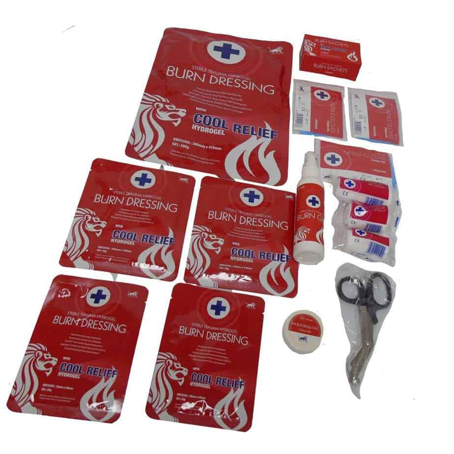 Burn First Aid Kit 7