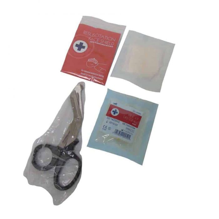 Small Refill Face Sheild Dressing and Scissors