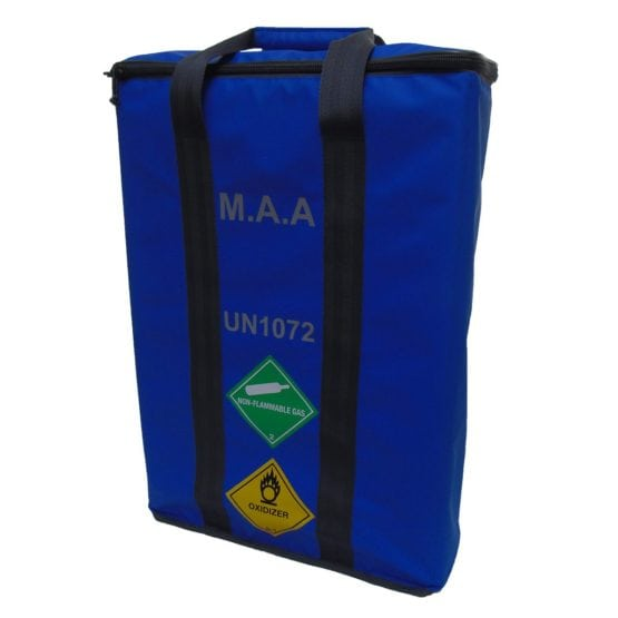 MAA 3 Cylinder Bag Blue 1