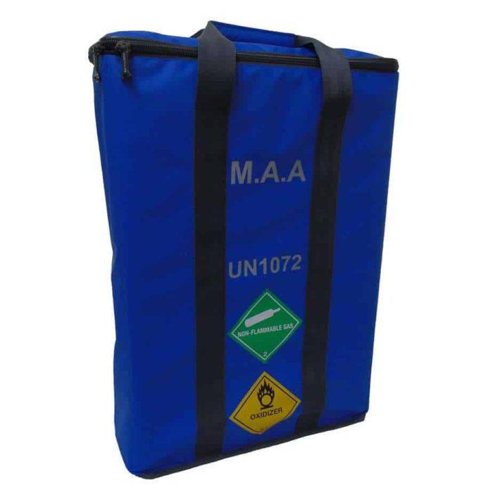 MAA 3 Cylinder Bag Blue 2