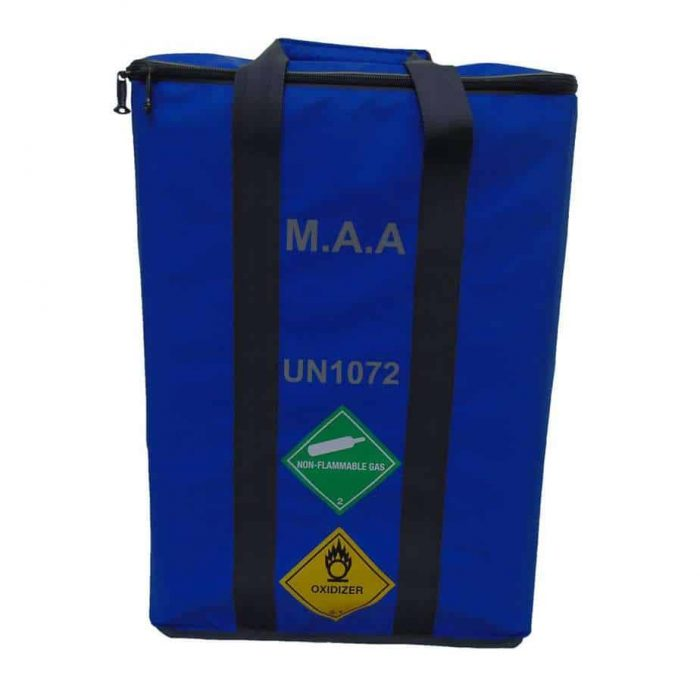 MAA 3 Cylinder Bag Blue 3