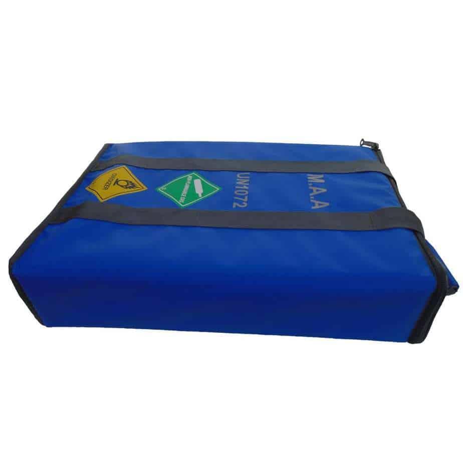 MAA 3 Cylinder Bag Blue