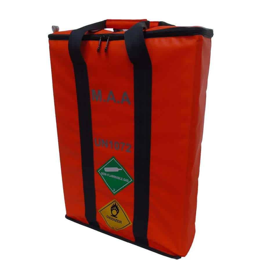 MAA 3 Cylinder Bag Orange 1