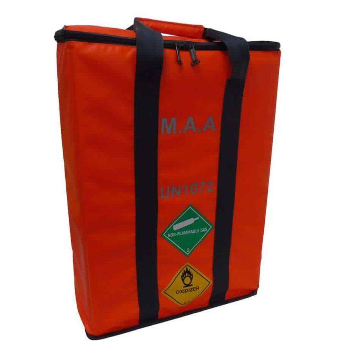 MAA 3 Cylinder Bag Orange 2