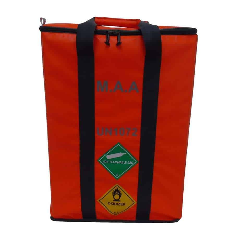 MAA 3 Cylinder Bag Orange 3