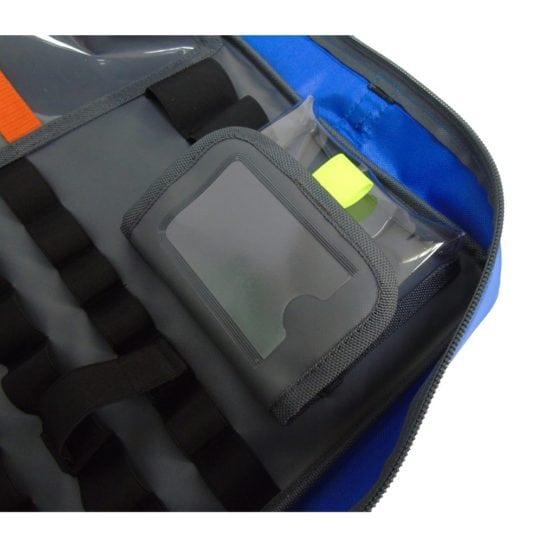 Blue-SCRAM-Bag-Clear-PVC-Pouch-Shut