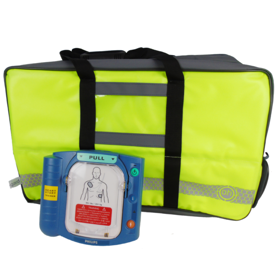 HeartStart AED HS1-with-OH-Large-Oxygen- Backpack