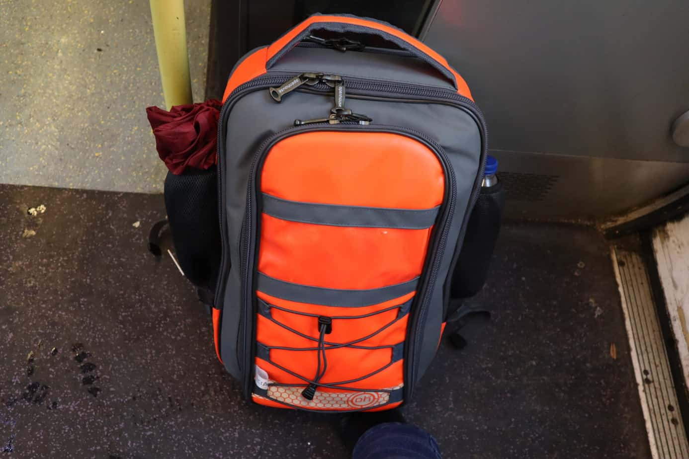 The-Adventures-of-the-Small-OH-Orange-Backpack-Continue....