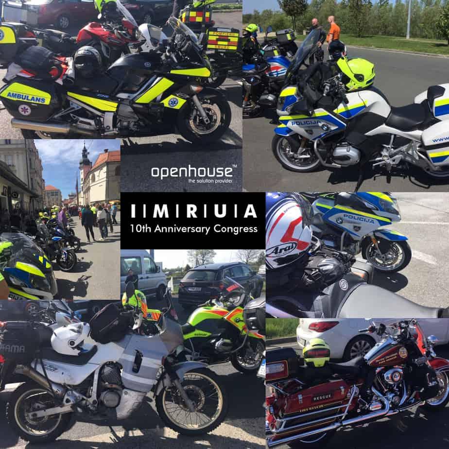 SLOVENIA 2019 IMRUA CONGRESS (International Fire and EMS Motorcycle