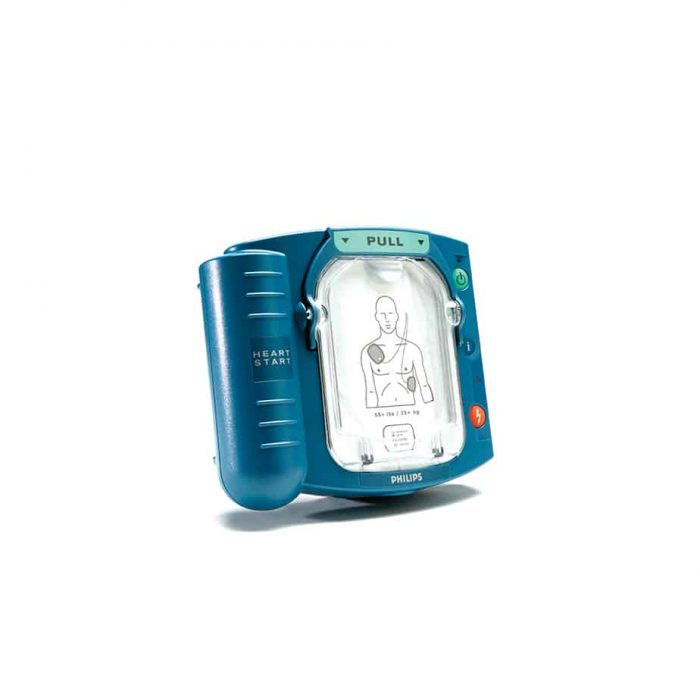 Heartstart AED-HS1-With-OH-Medium-Oxygen-and-Defib-Backpack