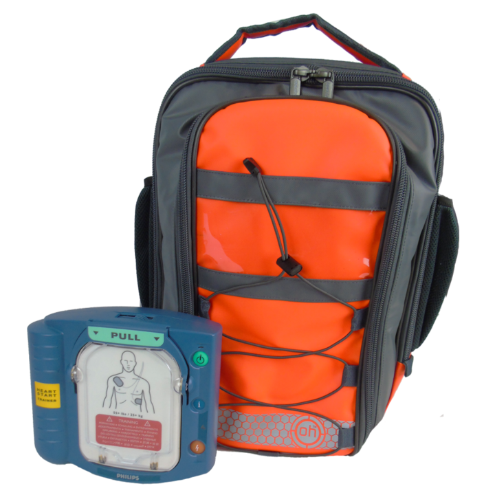 Heartstart-AED- HS1-With-OH-Small-Backpack