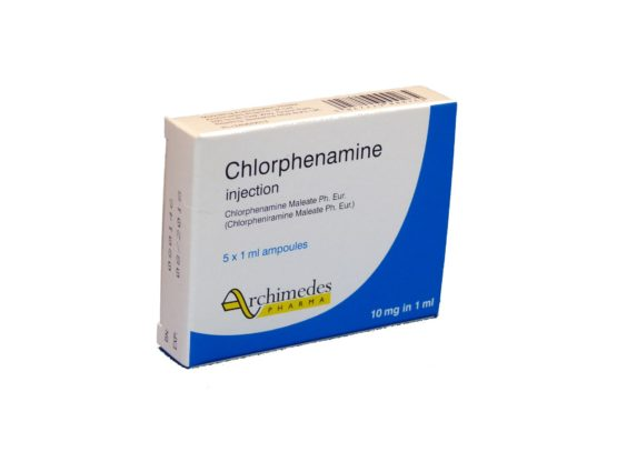 Chlorphenamine-Injection-10mg/1ml