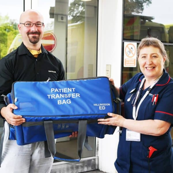 The Critical Care Patient Transfer Bag