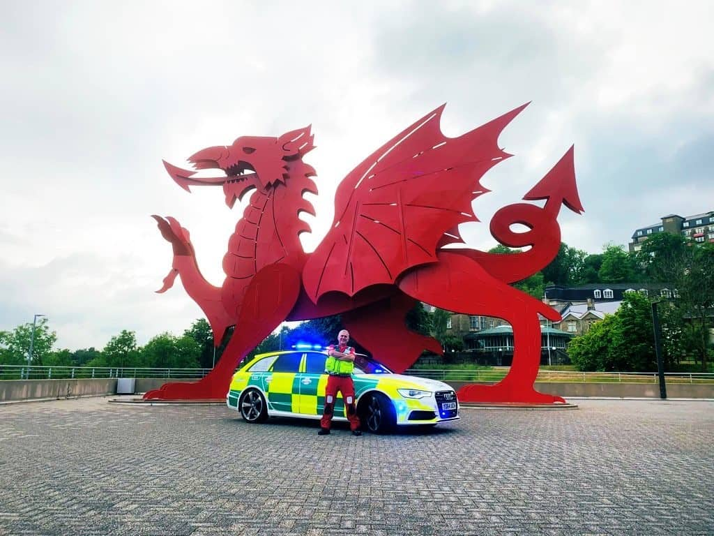 MEDSERVE Wales announced as our Charity Partner of the Year for 2021!